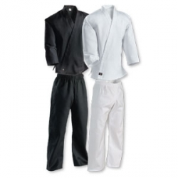 Middleweight Uniform with Elastic Pant