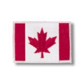 Canadian Flag Patch - White Trimmed