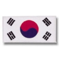 Korean Flag - White Trim